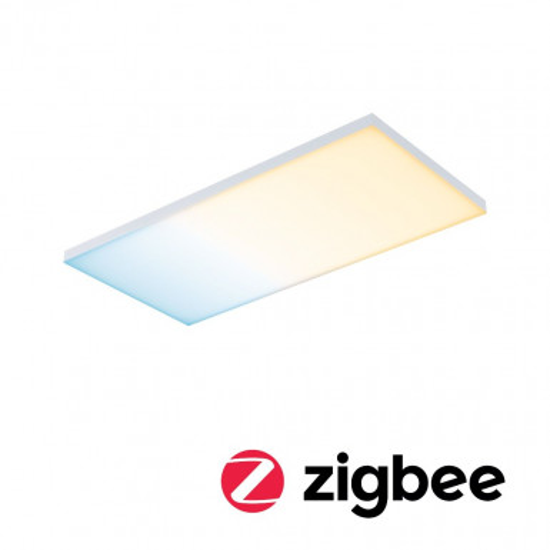 Paulmann 79827 LED Panel Velora SmartHome Zigbee 595x295mm 15,5 W Weiß matt Tunable White
