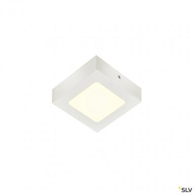 SLV Senser 12 CW Indoor LED Wand- und Deckenaufbauleuchte eckig weiß 4000K