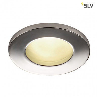 SLV DOLIX OUT GU10 Downlight rund IP65 chrom