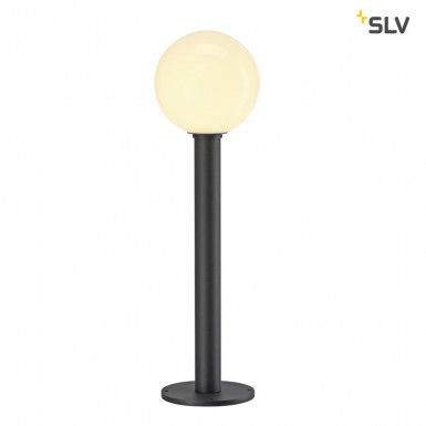SLV Gloo Pure 70 Pole Outdoor Stehleuchte E27 anthrazit IP44