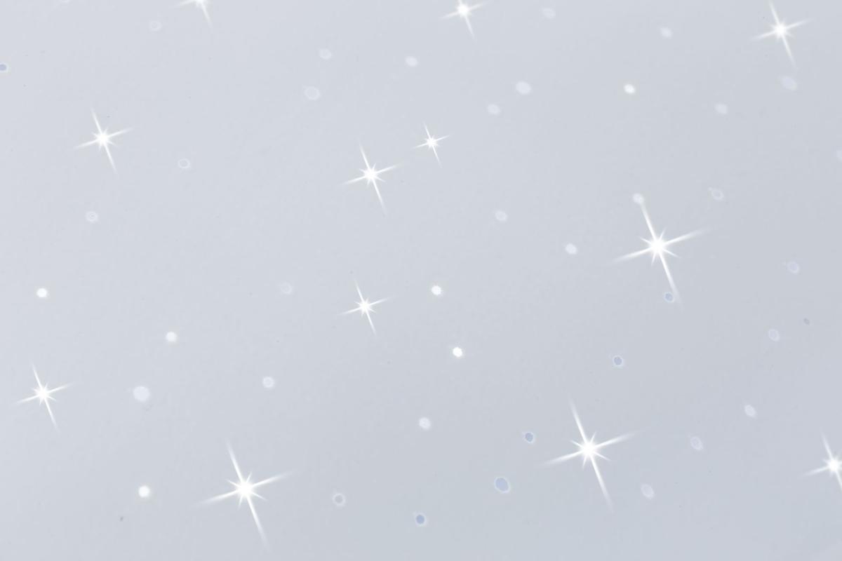 Paulmann Deckenleuchte Costella LED eckig 16W Weiß Sternenhimmel