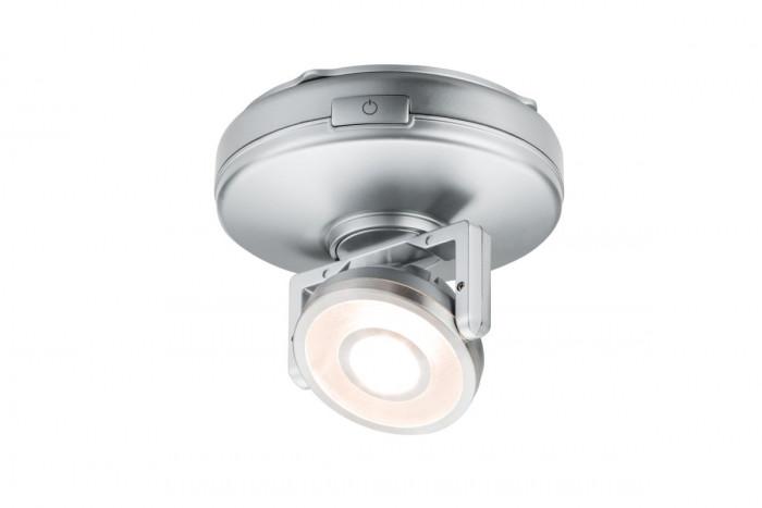 Paulmann 70637 Schrankleuchte LED Rotate 1er-Spot dimmbar batteriebetrieben